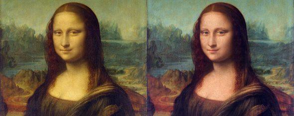 Having fun with Mona Lisa
