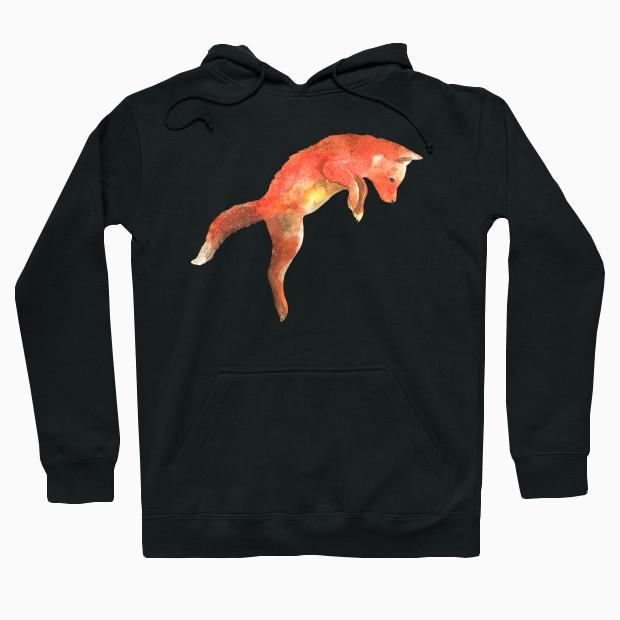 Jumping fox Hoodie
