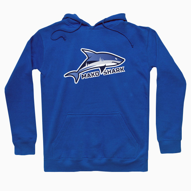 Mako shark cartoon Hoodie