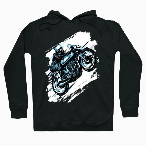 Fast motorcycle Hoodie