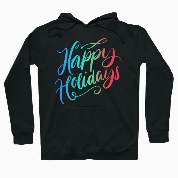 Happy Holidays RGB Hoodie
