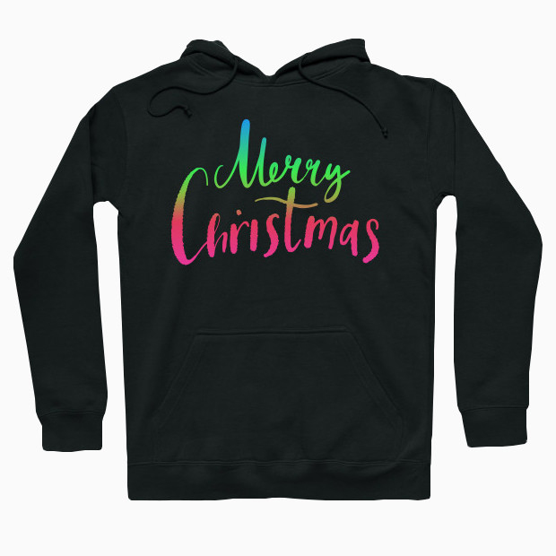 Merry Christmas RGB Hoodie