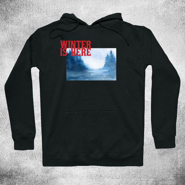 Winter is here Hoodie