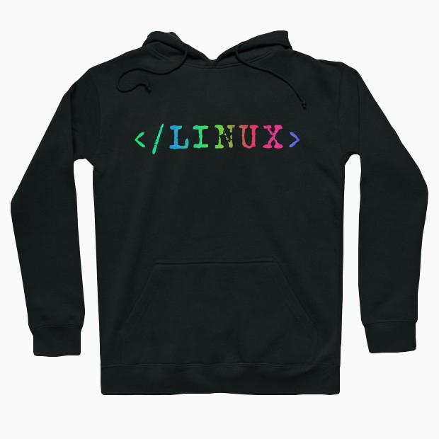 Linux RGB Hoodie