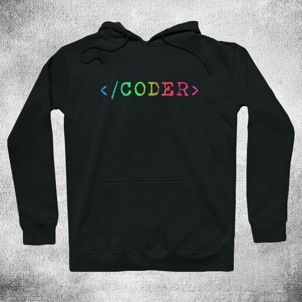 RGB coder Hoodie