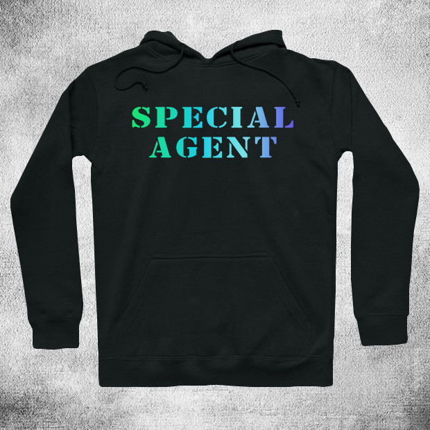 Special agent RGB Hoodie