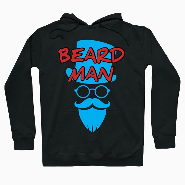 Beard man Hoodie