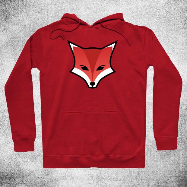Fox logo Hoodie