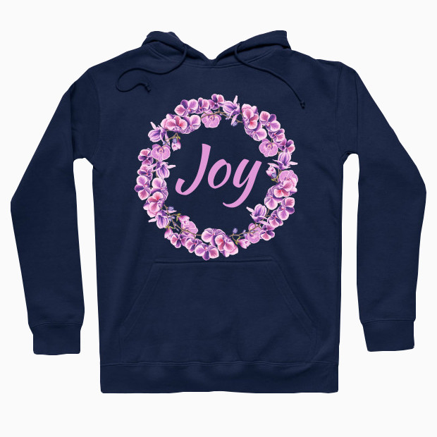 Joy flowers Hoodie