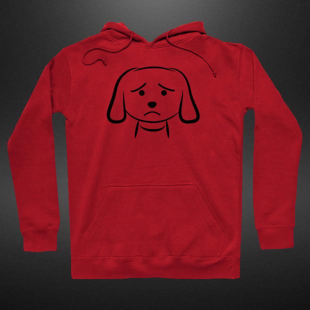 Sad puppy Hoodie