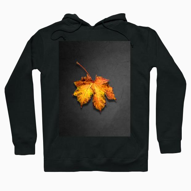 Artsy Leaf Hoodie