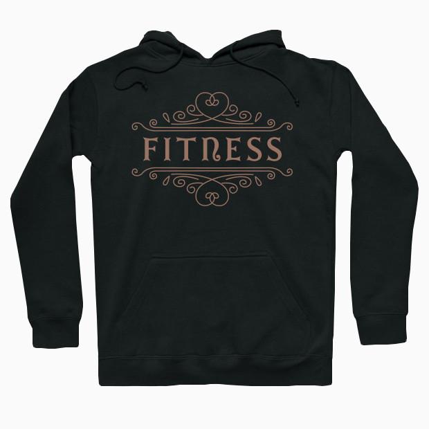 Vintage fitness Hoodie