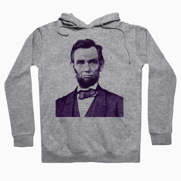 Abraham Lincoln drawing Hoodie