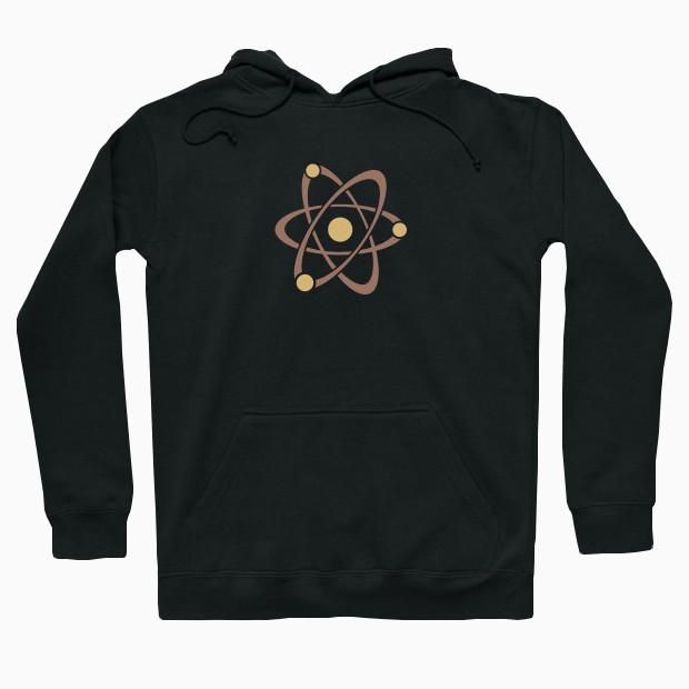 Cool retro atom Hoodie