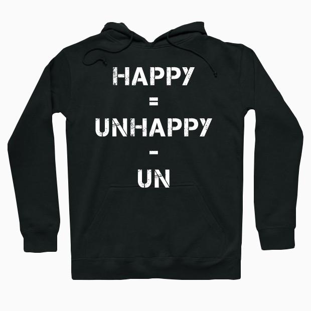Simple happy formula Hoodie