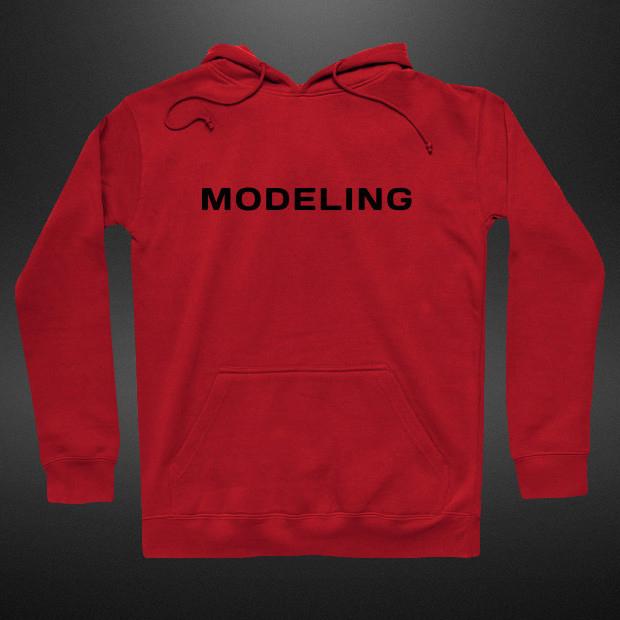 Modeling Hoodie