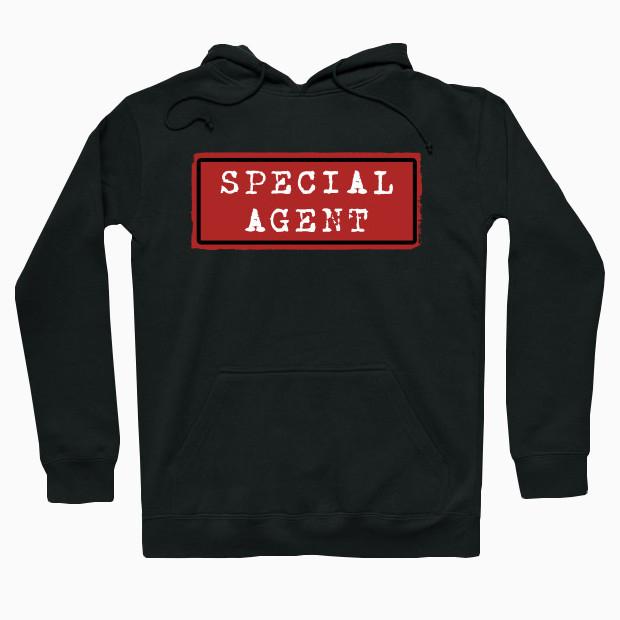 Special agent vintage Hoodie