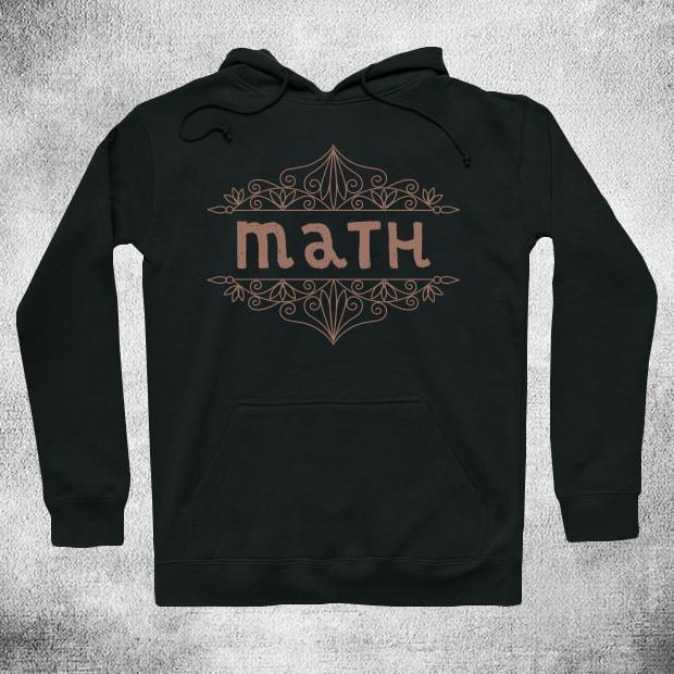 Vintage Math Hoodie