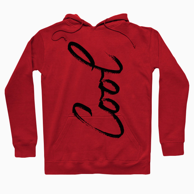 Cool typography Hoodie