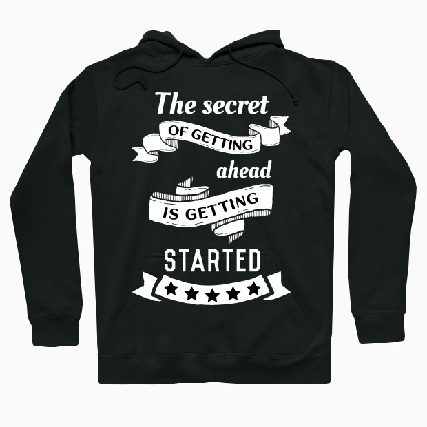 Motivational quote Hoodie