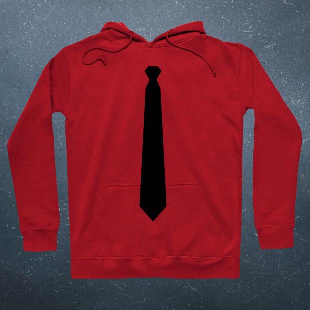 Black Tie Hoodie
