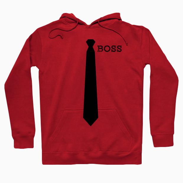 Boss tie Hoodie