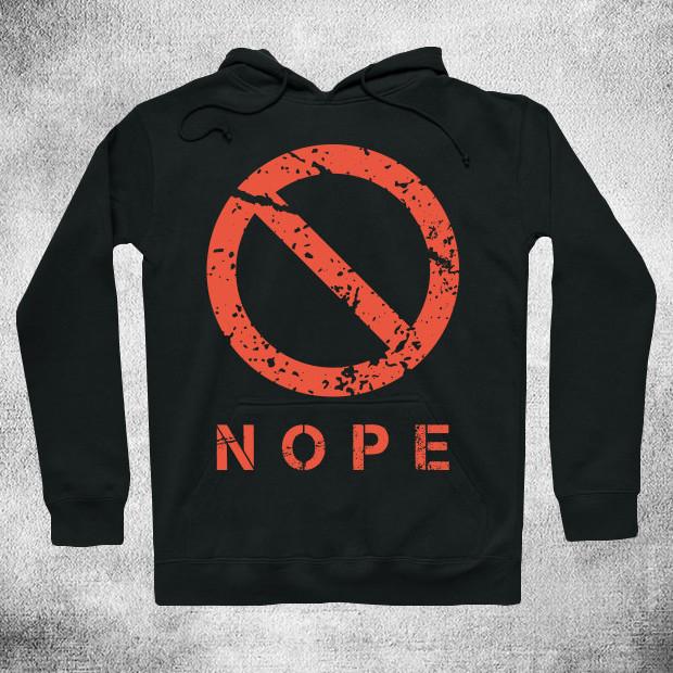 Nope logo Hoodie