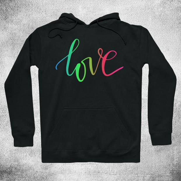 Love RGB Hoodie