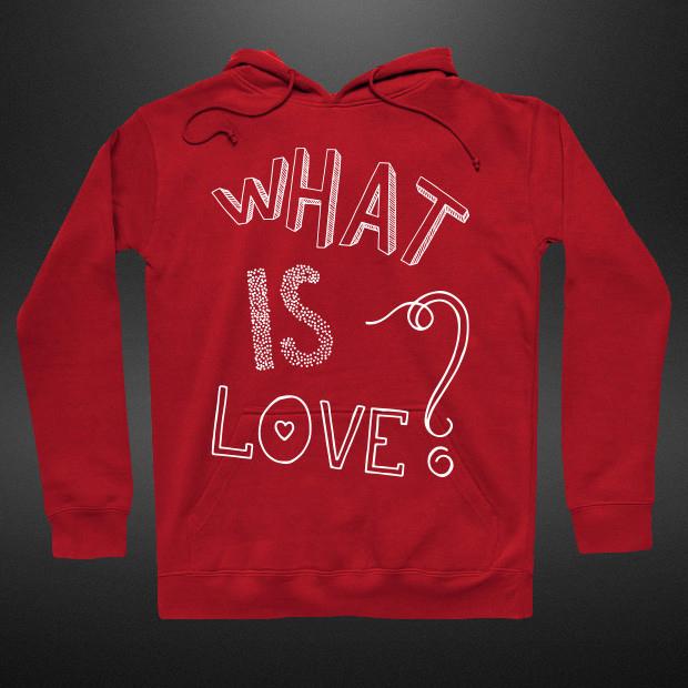What is love Hoodie