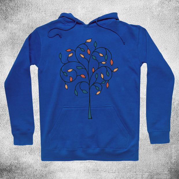 Artistic tree Hoodie