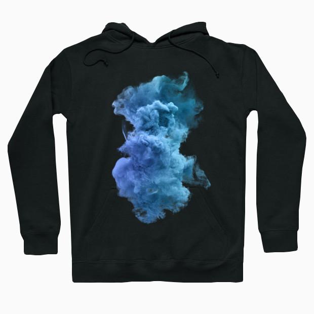 Blue cloud Hoodie
