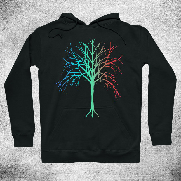 RGB Tree Hoodie