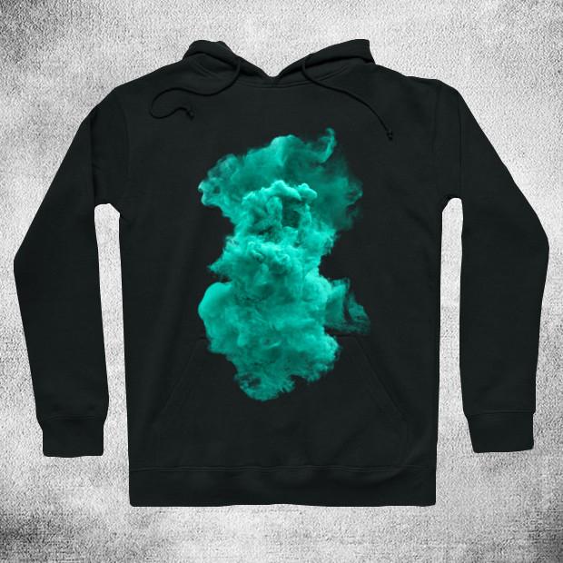 Turquoise cloud Hoodie