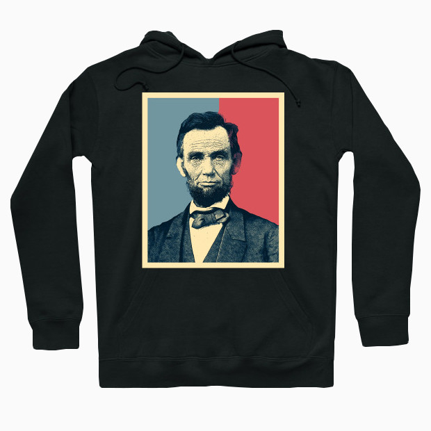 Abraham Lincoln poster Hoodie