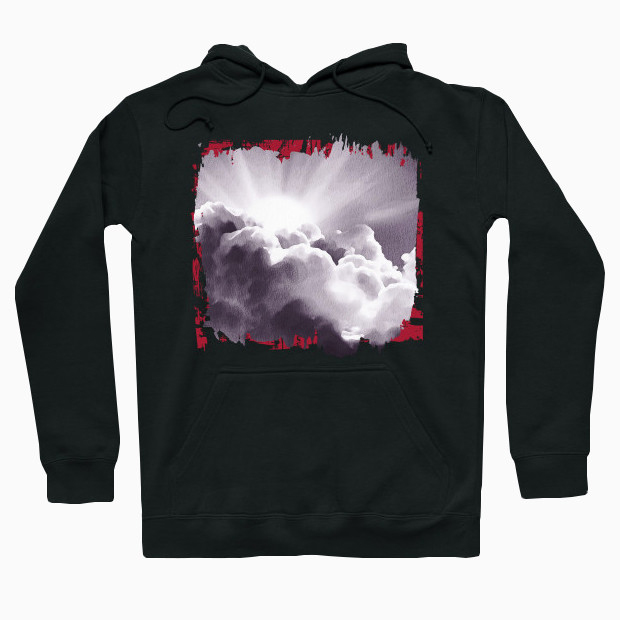 Clouds painting Hoodie