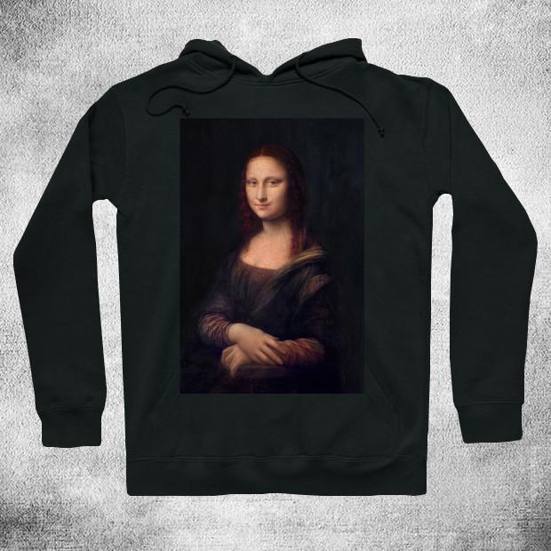 Mona Lisa chiaroscuro Hoodie