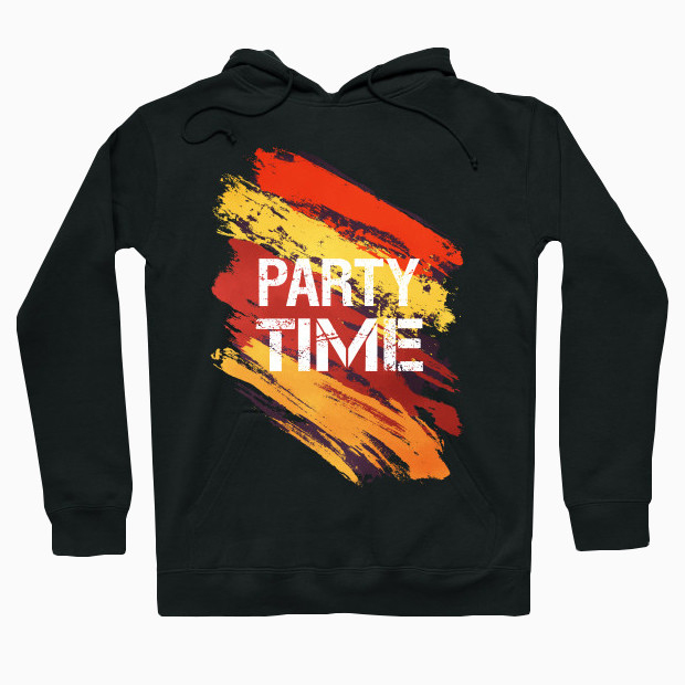 Party time paint Hoodie