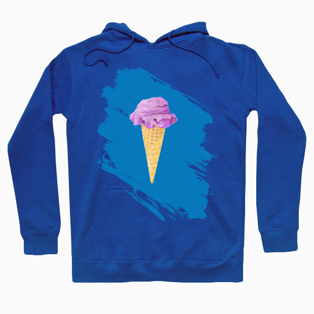 I just want ice cream Hoodie