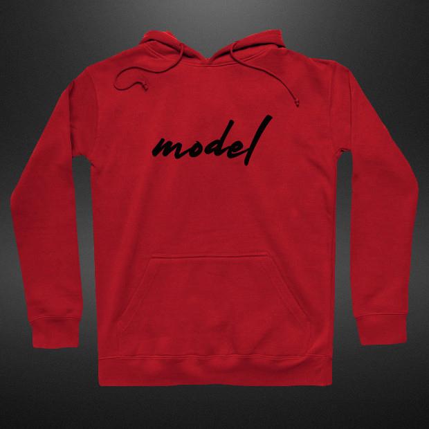 Model signature Hoodie