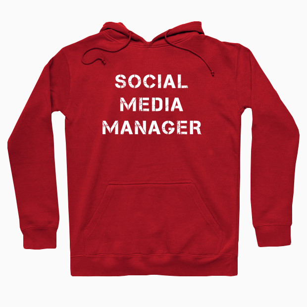 Social Media Manager Hoodie
