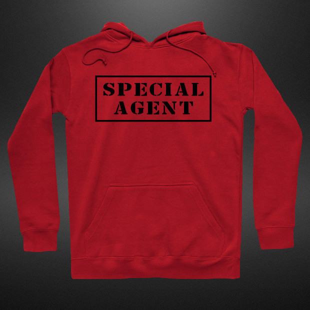 Special agent line Hoodie