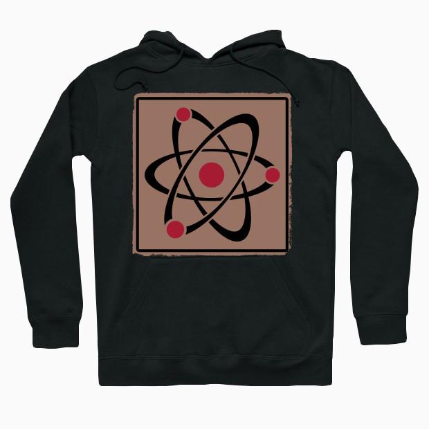 Atom retro Hoodie