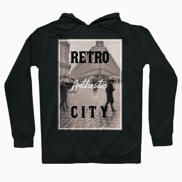 Authentic retro city Hoodie