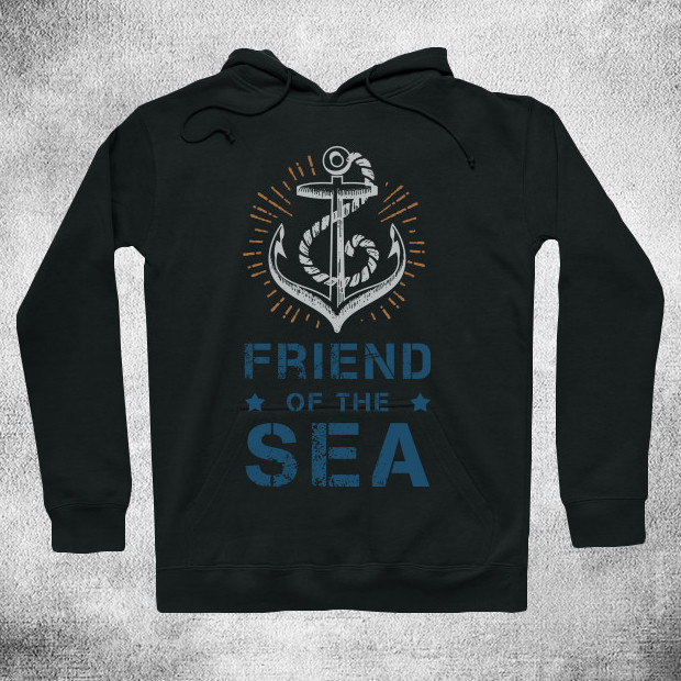 Friend of the sea Hoodie