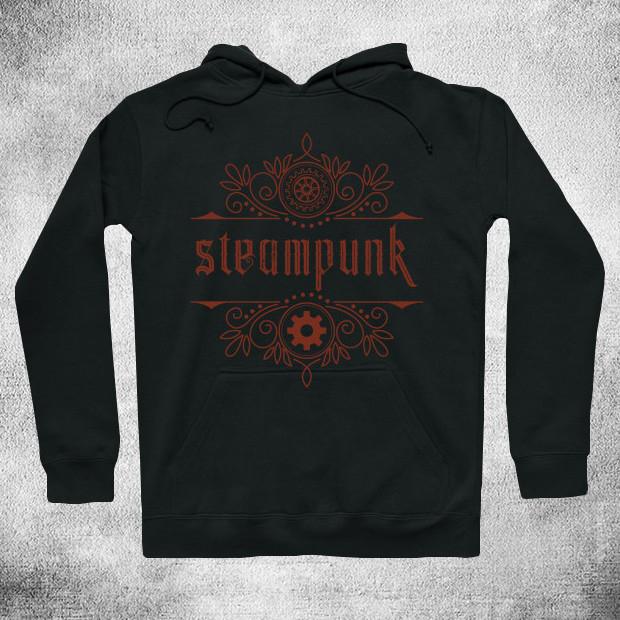 Steampunk retro style Hoodie