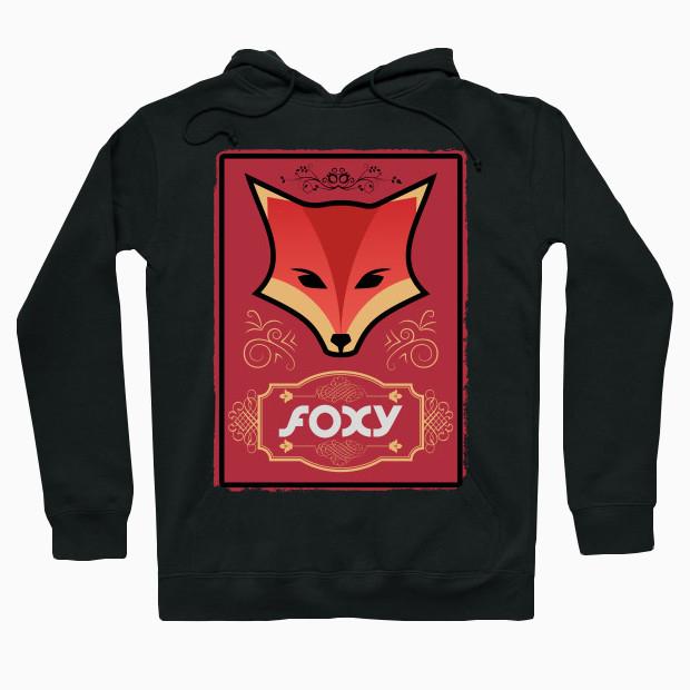 Vintage fox Hoodie