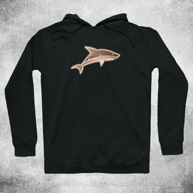 Vintage shark Hoodie