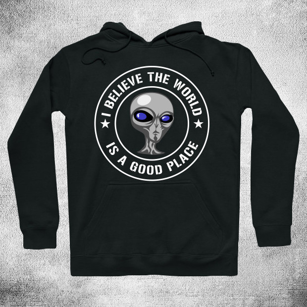 Alien invasion Hoodie