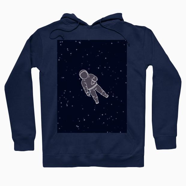 Astronaut in space Hoodie
