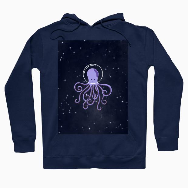 Octopus astronaut Hoodie